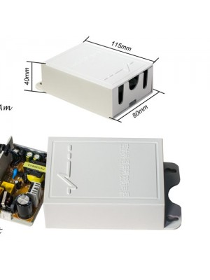 CE Outdoor Power Supply Adapter Waterproof Power Switch For Cctv Security Camera