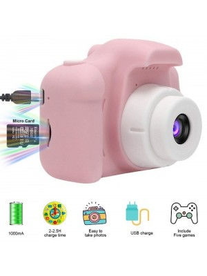 1080P FHD Kids Digital Video Camera Camcorder With Memory Card