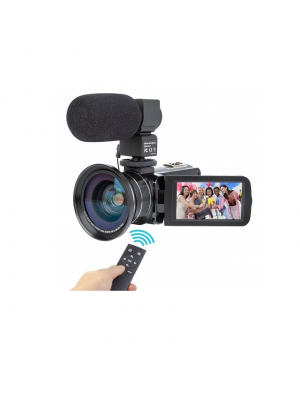 CE Hd 1080P Powerful Digital 24MP Camera With Mic & Wide Angle Lens Night Vision Camcorder