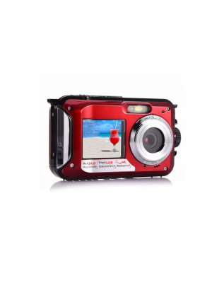 24MP Dual Screen Waterproof Digital Camera