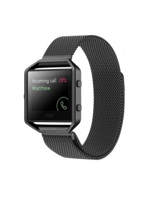 Replacement Strap For Fitbit Blaze Watch Milanese Loop 40mm Stainless Steel