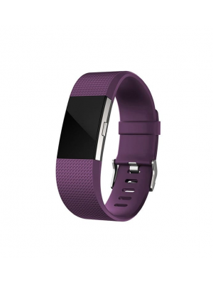 CE Replacement Silicone Band For Fitbit Charge 2 With Metal Buckle - Large