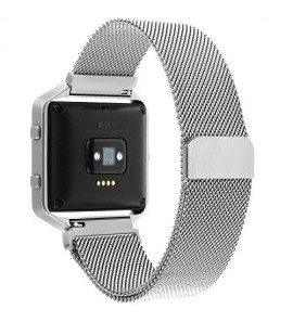 Milanese Loop Stainless Steel Bracelet Strap Replacement For Fitbit Blaze