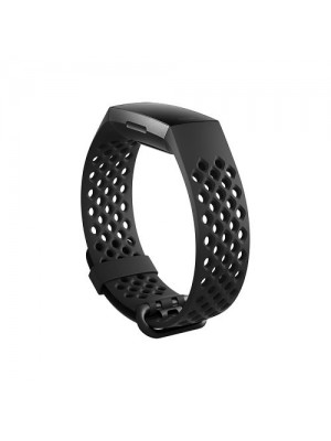 CE Replacement Sports Band With Breathable Air Holes For Fitbit Charge 3 & Charge 3 Se
