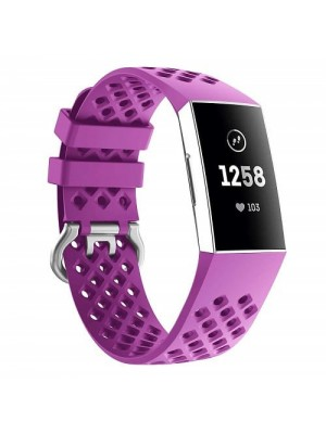Fitness Tracker Silicone Replacement Watch Strap