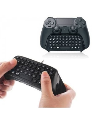 Bluetooth Wireless Keyboard Chatpad For PS4 PlayStation 4 Controller