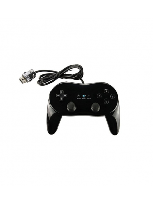 New Classic Pro Controller for Nintendo Wii - Black