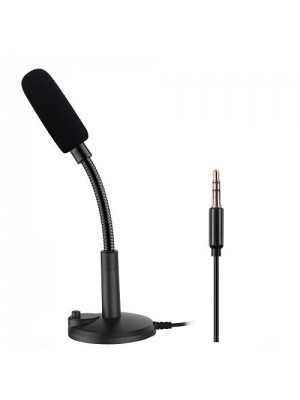 Plug & Play Home Studio Vocal Recording Microphone With Switch Button - 3.5mm