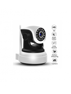 CE Two-Way Audio & Night Vision Wireless Security Surveillance Camera
