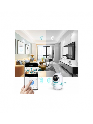 CE 1080P Wireless Security Camera With Smart Night Vision, Two-way Audio