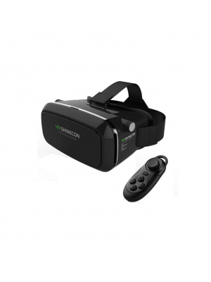 Virtual Reality 3D Movie Game Glasses+ Bluetooth Remote Control