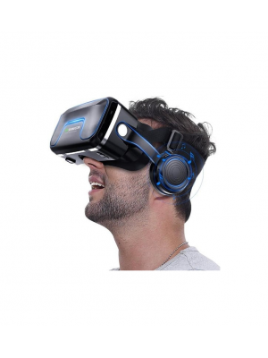Pro 7.0 Virtual Reality Gear Goggle 3D Headset For 4.7-6.0 inch Smartphone + Gamepad