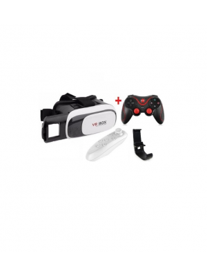Vr Box With Game Pad Combo