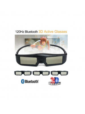 CE Bluetooth Rechargeable Active Shutter Glasses For 3D TVs