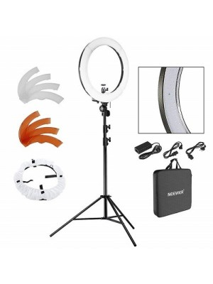 """18"""" LED Ring Light Camera Dimmable Photo Video, Youtube, Portrait And Photography Lighting"""