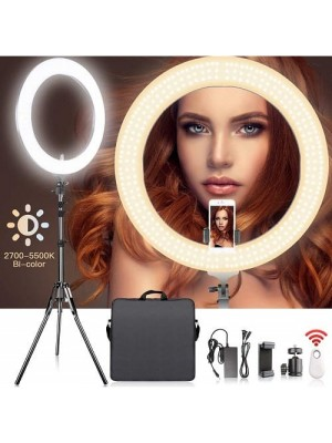 Sam Adjustable Dimmable SMD LED Ring Light 2700-5500k Color Temperature Ring Light