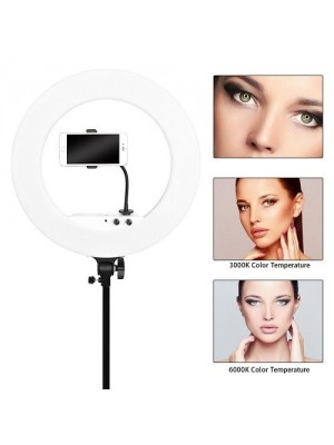 """12""""LED Ring Light With Tripod Light Stand,Carrying Bag For Makeup,Youtube,Camera"""