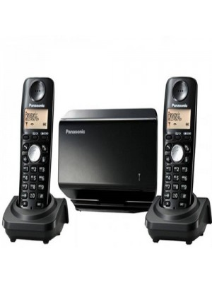 Panasonic GSM DECT Wireless 2 Phones in 1 Home Office SIM Cordless Phone - Supports All Network