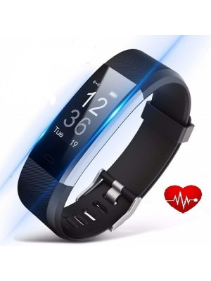 Heart Rate Touchscreen Fitness Tracker Smart Bracelet