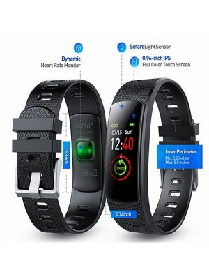 Heart Rate Monitor Fitness Tracker With Full Color Screen